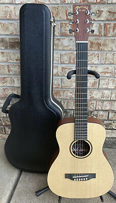 Martin LXME Little Martin Acoustic Electric Guitar Natural Color W/ Case