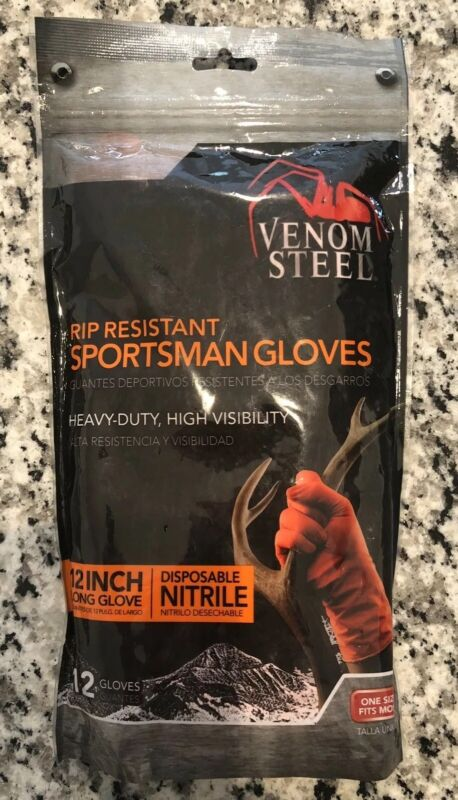 Venom Steel Sportsman Gloves - Great For Cleaning Too
