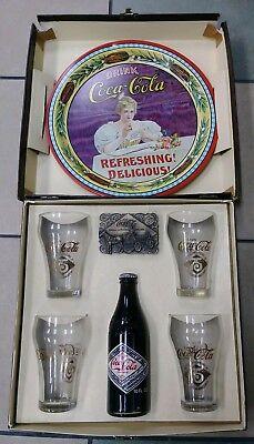 Rare Coca Cola Bottling Co  75Th Anniversary Box Set Chicago 1901 1976