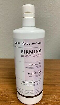 Core Clinicals Retinol FIRMING Body Wash +multiVitamins , Peptides New 32 covid 19 (Firming Body Wash coronavirus)