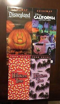Disneyland and California Adventure Halloween Time  2018 Food Guide & Maps  (Halloween California Adventure)