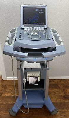 Sonosite M-turbo Portable Ultrasound Machine With Cart And Printer -please Read-