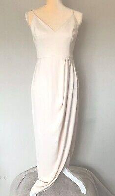 Women's Revolve Shona Joy Dusty Pink Draped Dress Size 4
