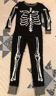 Boys Skeleton Pyjamas (Boys Circo 10 Black Cotton Skeleton Pajamas Glow In The)