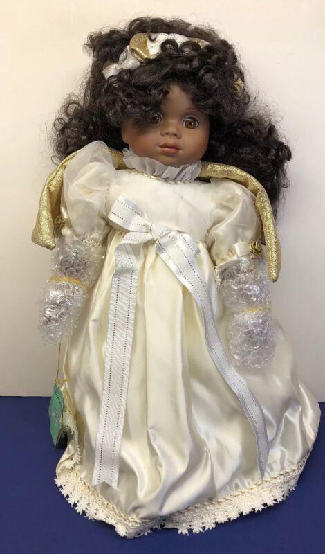 "18"" Carol Anne Bette Ball Charlot Byj's ""Cheery Cherub"" Angel Doll AA MIB"