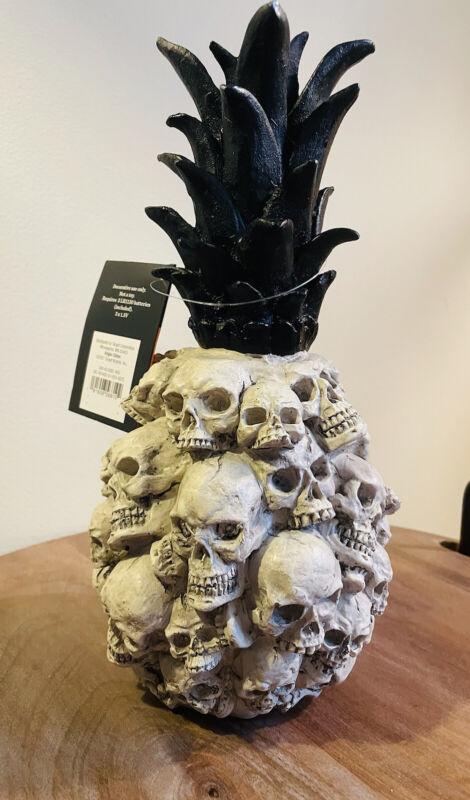 New Pineapple Skull Hyde and Eek! Light Up LED Halloween Decor Target