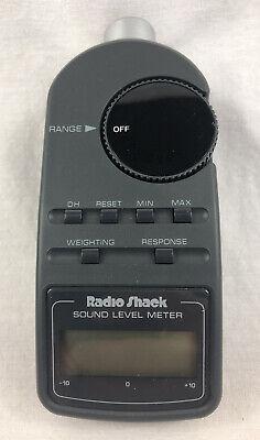 Vintage Radio Shack Digital Sound Level Meter 33-2055 Wcarrying Case - New