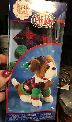 ELF Pets Elf On The Shelf DOG Christmas Costume Playful Pup Pj's New Plaid