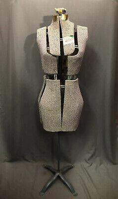 Singer Adjustable Dress Form Size Jr Vintage Sewing Display Stand Made In Usa