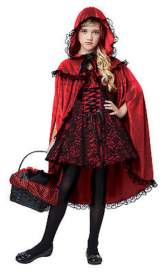 Child Deluxe Red Riding Hood Costume