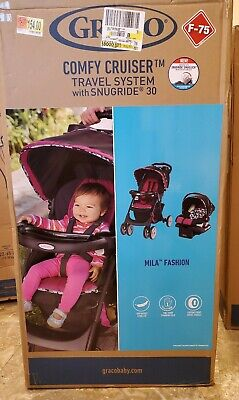 Graco Baby Stroller Travel System with snugride 30