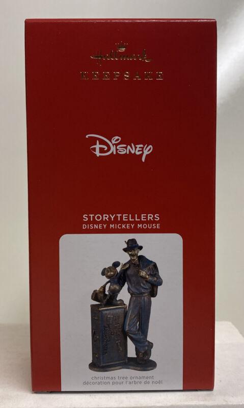 2021 Hallmark Keepsake Disney Mickey Mouse Storytellers Ornament