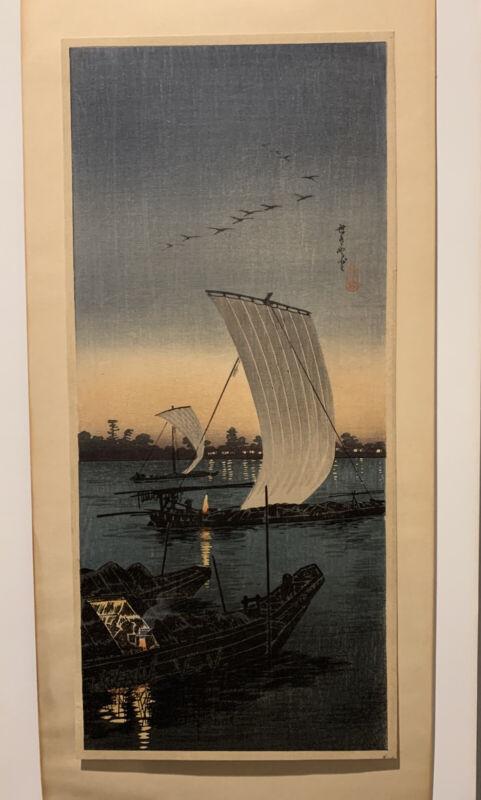 Takahashi Shotei Japanese Woodblock Print