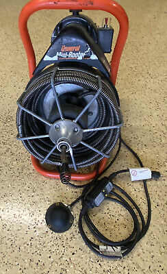 General Wire Mini-rooter 12 X 50 Cable Sewer Line Cleaning Drain Snake Great