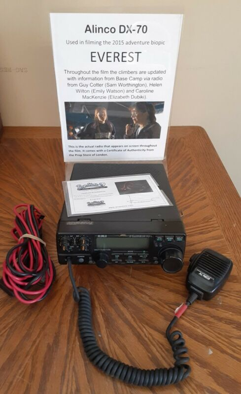 Alinco DX-70TH HF+50MHz 100w All Mode Transceiver - On Screen Movie Prop - Nice+