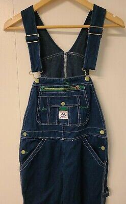 Vintage Overalls & Jumpsuits  (Lady) Liberty Blue Denim Bib Carpenter Overalls Size 8 Reg $24.95 AT vintagedancer.com