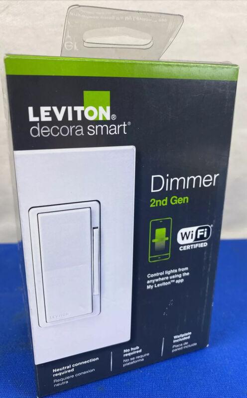 Leviton 2nd Gen Wifi Dimmer D26HD NEW