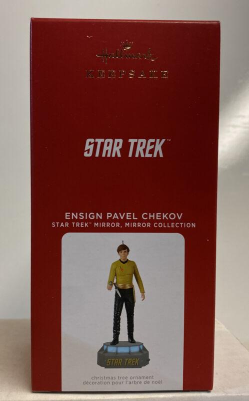 2021 Hallmark Keepsake Star Trek Ensign Pavel Chekov Mirror Mirror Ornament
