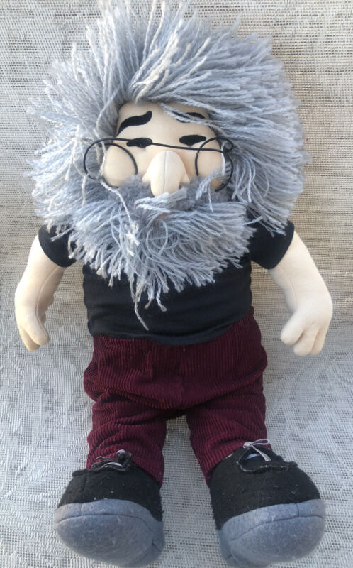 Jerry Garcia The Grateful Dead Stuffed Plush Liquid Blue Gund
