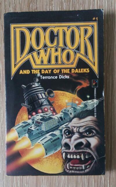 DOCTOR WHO AND THE DAY OF THE DALEKS TERRANCE DICKS US PINNACLE PB 1989 NICE