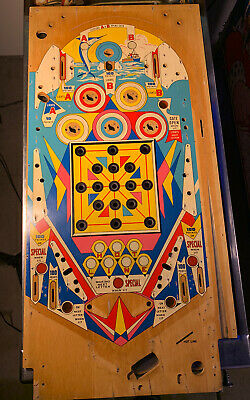 WILLIAMS 'HOT LINE' PINBALL MACHINE PLAYFIELD - USED NICE CONDITION SWAP TIME!