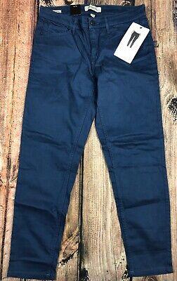 Calvin Klein Jeans Ankle Skinny Pants Dark Denim Blue Womens 6 8 10
