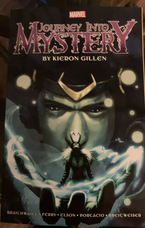 Loki journey into mystery Complete Collection Gillen Vol 1 Tpb Marvel (Rare OOP)
