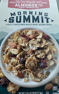 Morning Summit Maple Berry Blend Breakfast Cereal, 38 oz Exp-11/23/2020