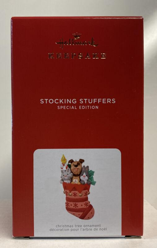 2021 Hallmark Keepsake Stocking Stuffers Special Edition Ornament