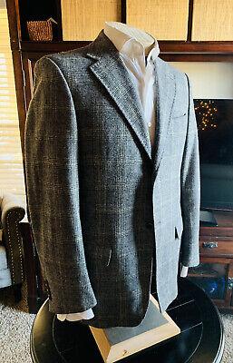 Pal Zileri Lab. Plaid blazer jacket size 48 Eu 38 Us made in italy