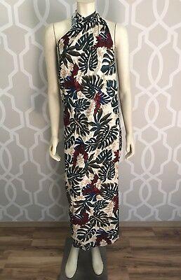 Hilo Hattie Pareo Beach Sarong Skirt Wrap Tropical Floral Print Rayon O/S Nwt Floral Print Pareo
