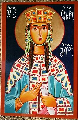 EASTERN ORTHODOX ICON OF ST. TAMAR QUEEN OF GEORGIA  for sale  Shipping to Canada