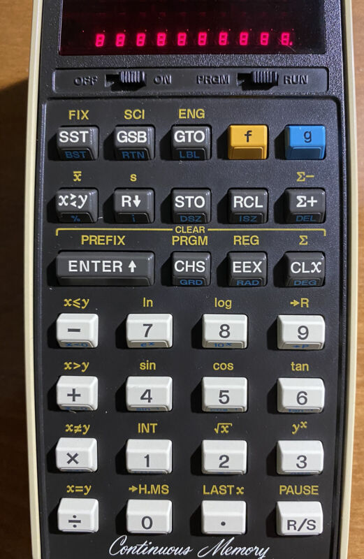 HP 29C Hewlett Packard Calculator in Near Perfect condition with Charger.