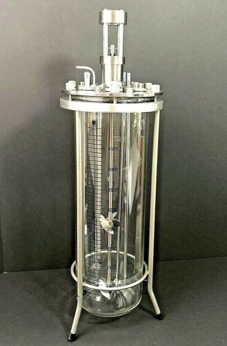 Applikon 5L Glass Bioreactor With Headplate and Many Accessories See Description
