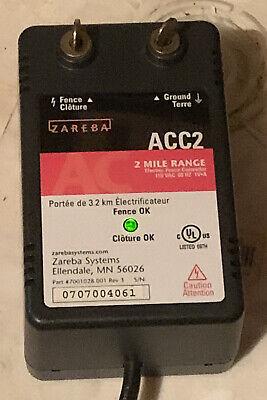 Zareba Acc2 Electric Fence Controllerfenceground Charger 2 Mile Range