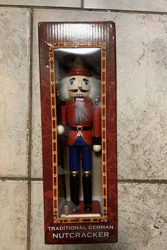 Alstertor Traditional German Nutcracker #KY130 Made In Germany (NEW IN BOX) 🔥