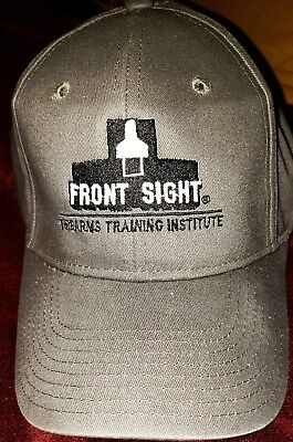 Front Sight Firearms Training Institute Hat  New    Dark Gray
