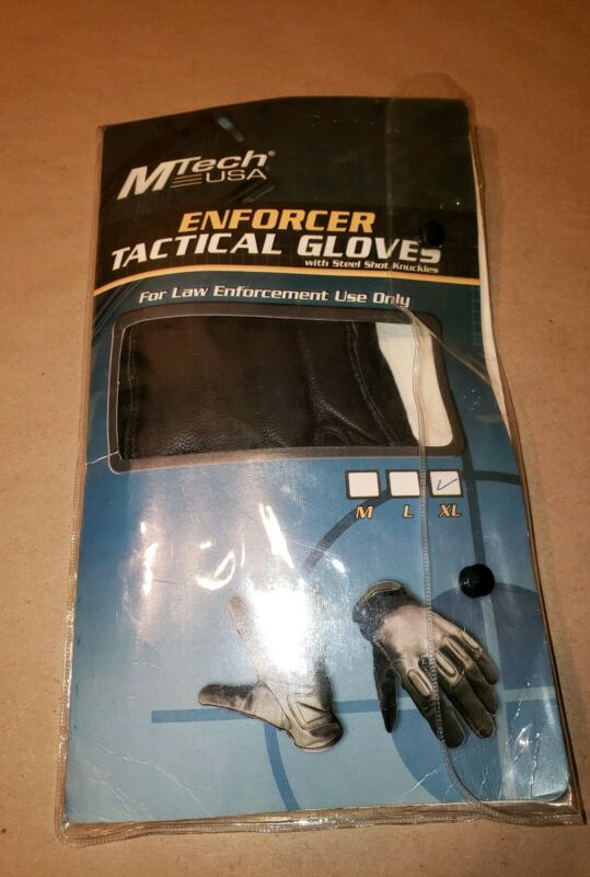 Mtech Usa Enforcer Tactical Gloves XL Brand New In Package Law Enforcement