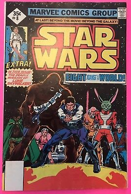 STAR WARS MARVEL COMICS 1977, Issue 8, Eight Against The World
