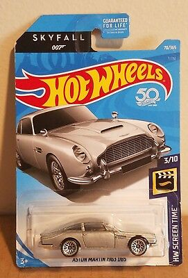 Hot Wheels HW Screen Time Skyfall James Bond Aston Martin 1963