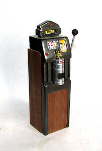Scary-Miniatures-Hand-Made-OOAK-1-12-scale-Vintage-Chief-Slot-Machine-tall