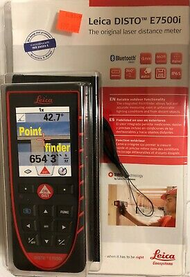 New Leica Disto E7500i Laser Distance Meter W Bluetooth Smart And Pointfinder