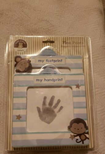 Baby Boy First Hand Print Kit Child Of Mine Keepsake Casting Kit By Carters NIB - $15.99