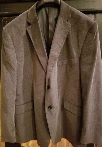 Madison Men's Gray Corduroy Suit Jacket(48R)