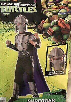NEW Teenage Mutant Ninja Turtles TMNT Shredder Kids Halloween Costume - Size: M