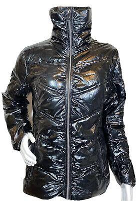 Versace Italia 1969 Abbigliamento Sportivo Black Puffer Down Jacket size Medium