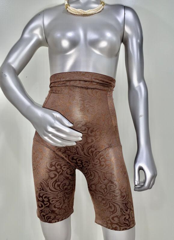 Vintage Cupid Firm Control Long Leg Girdle Garters Granny Sissy Panties Sz XL