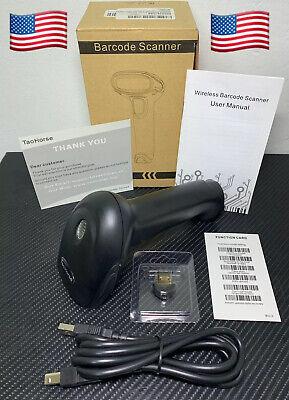 Automatic Laser Handheld Wireless Bluetooth Barcode Scanner Gun Bar Code Reader