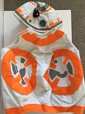 POTTERY BARN KIDS STAR WARS BB8 COSTUME SIZE 8-10 NEW HALLOWEEN COSPLAY DROID LG