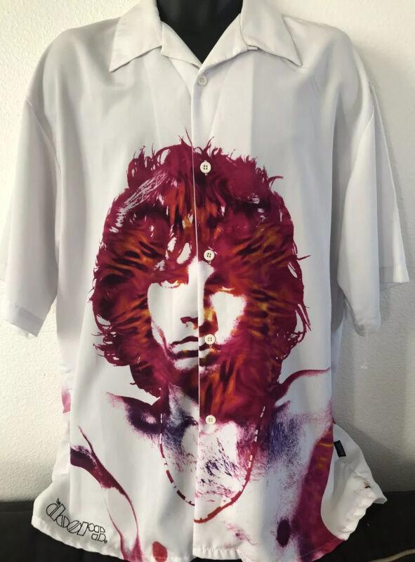 VTG. 2003 THE DOORS Legend Jim Morrison An American Poet Men's Shirt Sleeve XL